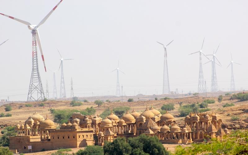 The Jaisalmer Windfarms