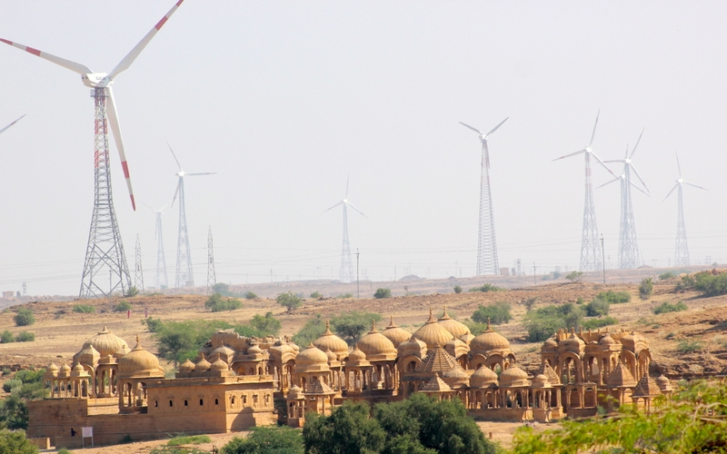 The Jaisalmer Windfarms