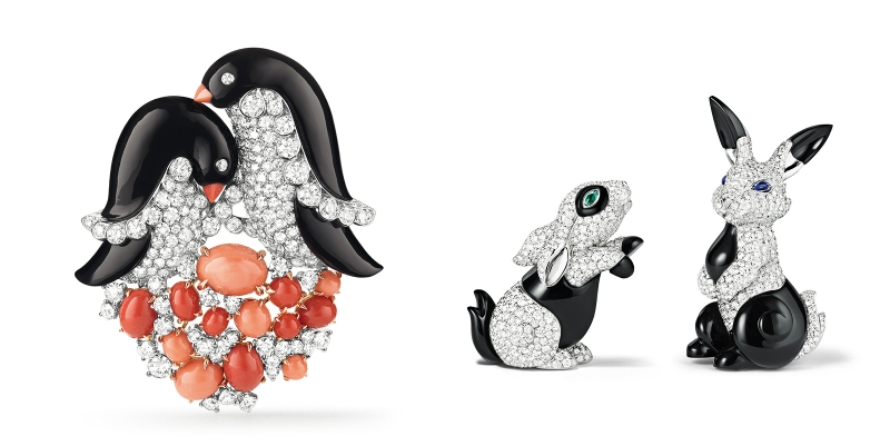 the-jewelry-tale-of-noahs-ark-by-van-cleef-arpels-pinguins-and-rabbits