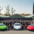 The Lamborghini Blancpain Super Trofeo North America series