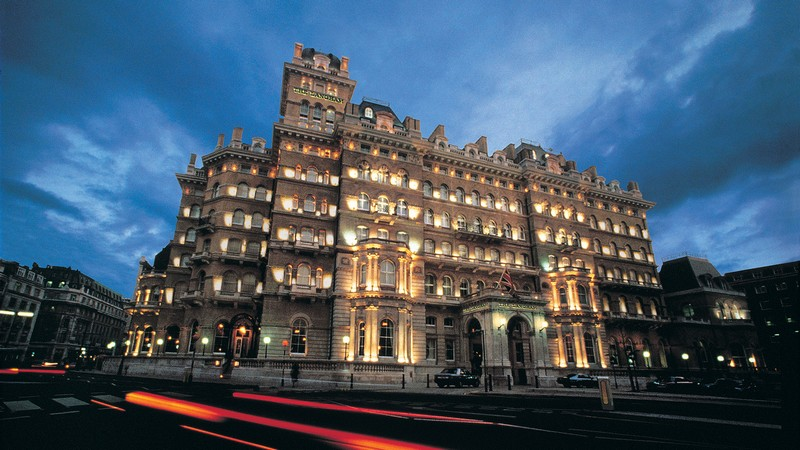The Langham Hotel London - night view