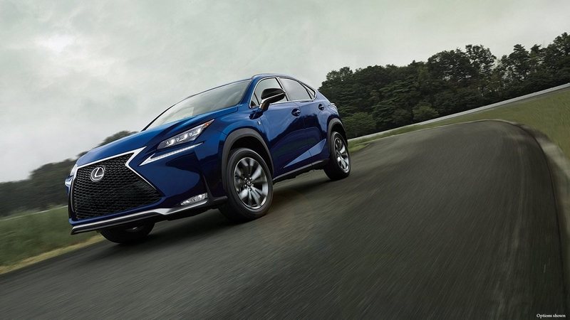 The Lexus NX F SPORT