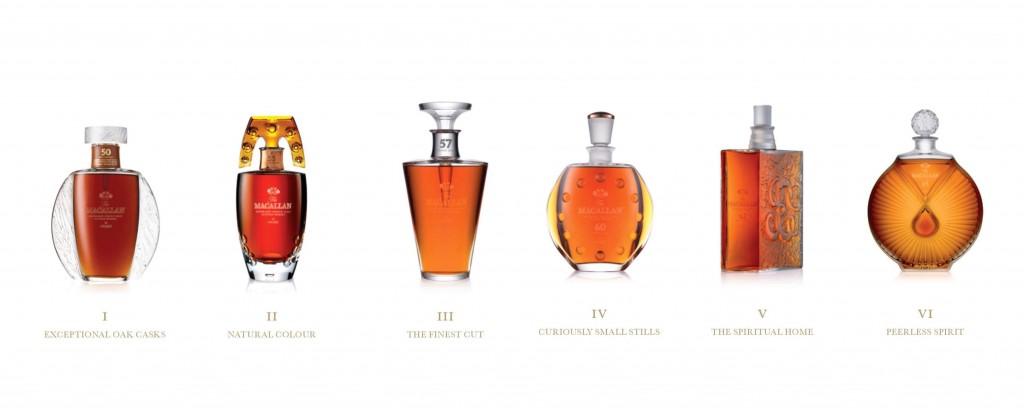 The Macallan x Lalique collection