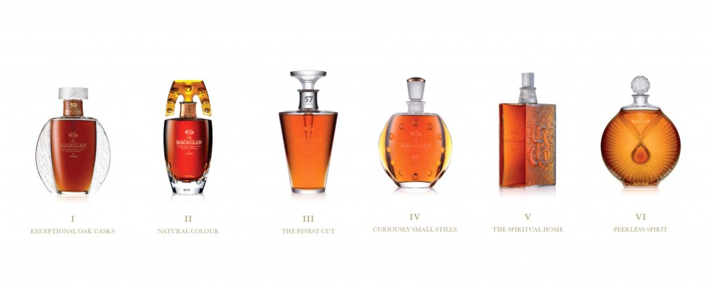 The Macallan x Lalique collection