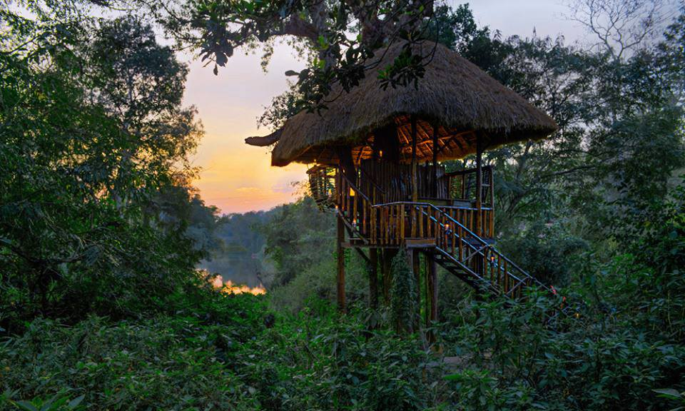 The Machan– treetop dining at ‪#‎OrangeCountyResorts‬ India