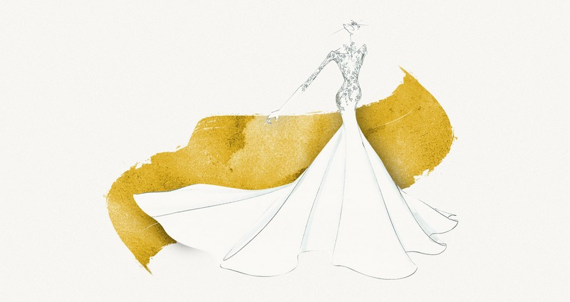 The Marchesa Bridal Capsule Collection for St. Regis Hotels & Resorts-Dubai