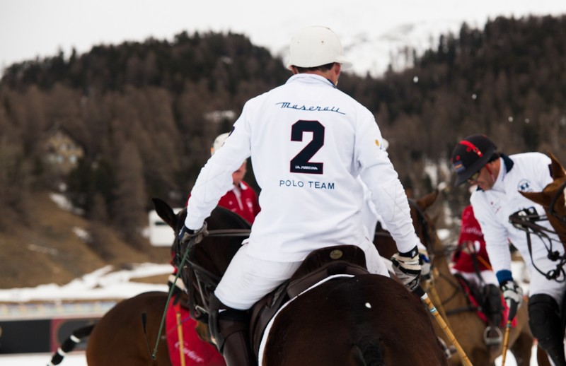 The Maserati Polo Tour 2016 began with a thrilling start at the 2016 Snow Polo World Cup St. Moritz-