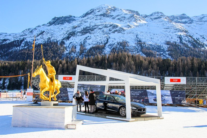 The Maserati Polo Tour 2016 began with a thrilling start at the 2016 Snow Polo World Cup St. Moritz-002