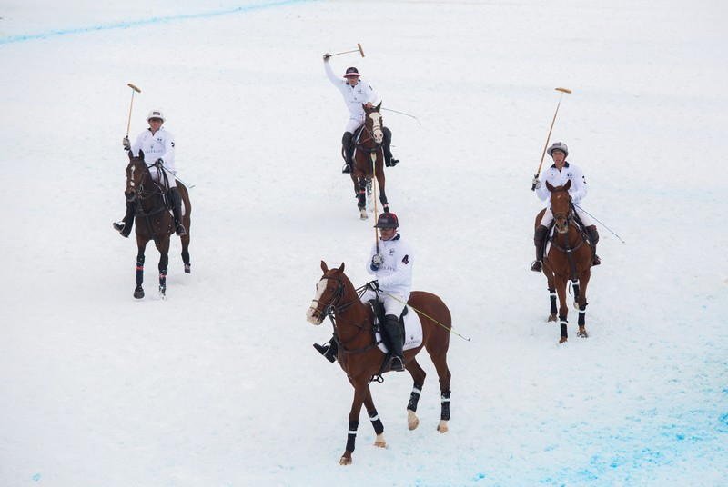 The Maserati Polo Tour 2016 began with a thrilling start at the 2016 Snow Polo World Cup St. Moritz - photos