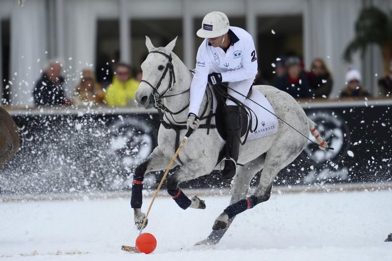 Snow Polo World Cup St Moritz, 31/01/2016, Final, Maserati vs Cartier