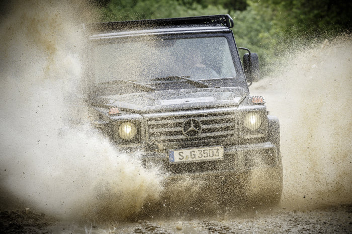 The Mercedes G Wagon goes back to its roots with the 350 d Professional--