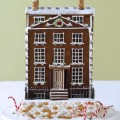 The Most Precious Christmas Gingerbread House Ever - Created In The Likeness Of Your Own Home, Adorned With Pearls And A Ruby