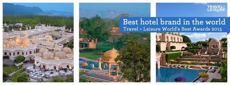 The Oberoi Udaivilas, Udaipur-best hotel brand in the world