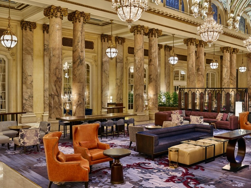 The Palace Hotel -  A newly renovated San Francisco icon unveiled 2015-