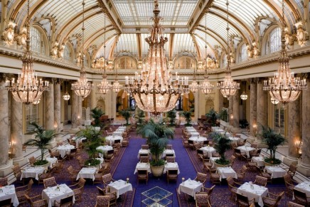 The Palace Hotel. A newly renovated San Francisco icon unveiled.