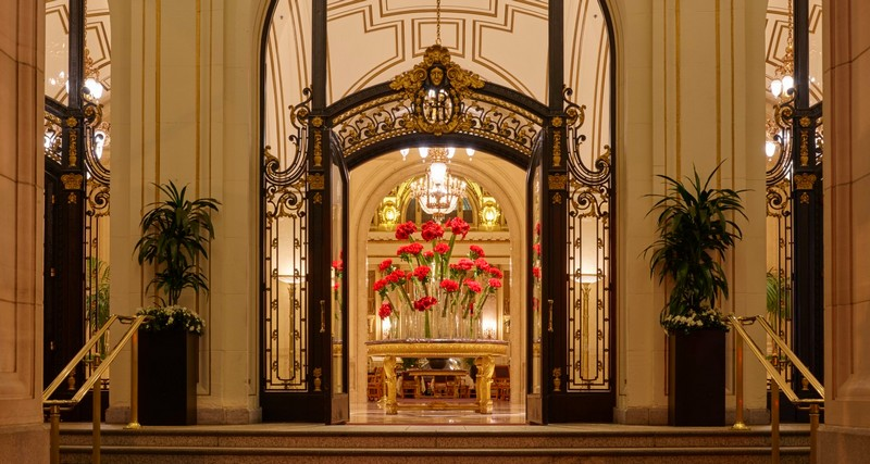 The Palace Hotel -  A newly renovated San Francisco icon unveiled 2015 - 2luxury2-entrance