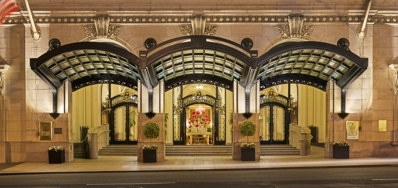 The Palace Hotel -  A newly renovated San Francisco icon unveiled 2015 - 2luxury2-main entrance