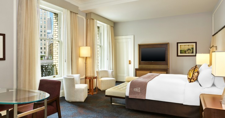 The Palace Hotel -  A newly renovated San Francisco icon unveiled 2015 - 2luxury2-room