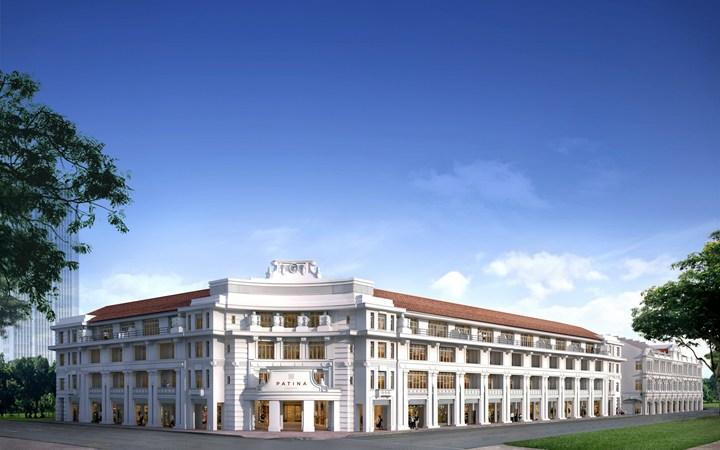 The Patina Hotel Capitol Singapore