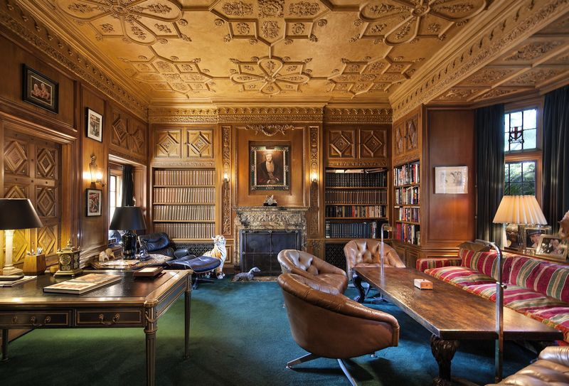 The Playboy Mansion sold-interior