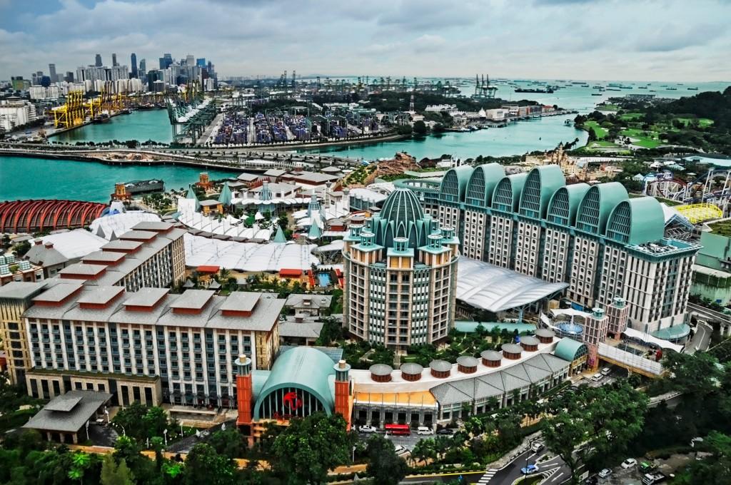 The Resorts World Sentosa in Singapore