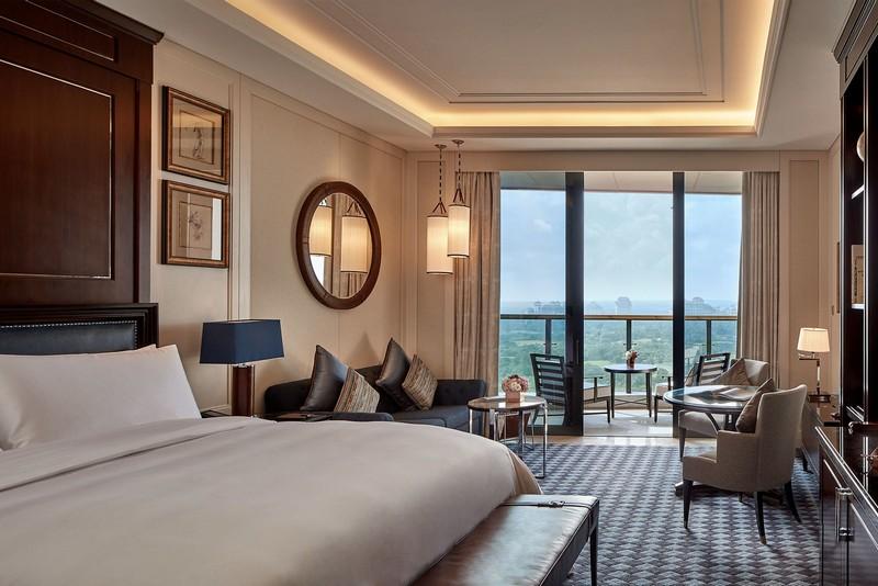 The Ritz-Carlton, Haikou hotel rooms