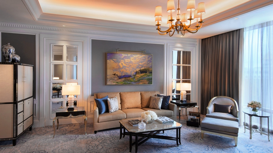 The Ritz-Carlton, Macau livingroom