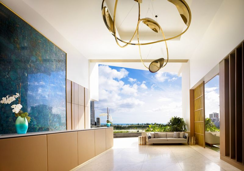 The Ritz-Carlton Residences, Waikiki Beach-reception