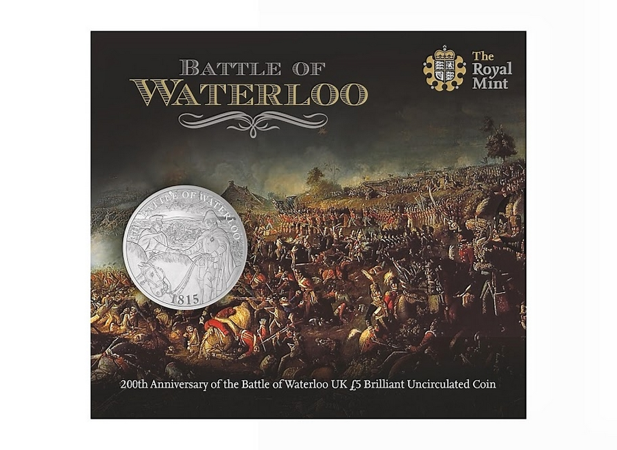The Royal Mint marks 200 years since the Battle of Waterloo- --