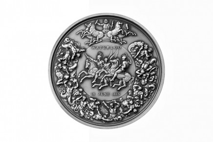 Royal Mint's 200th Anniversary of the Battle of Waterloo 2015 medals