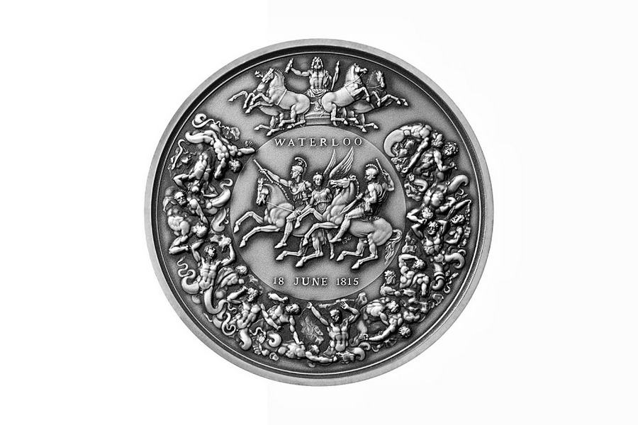 The Royal Mint marks 200 years since the Battle of Waterloo-