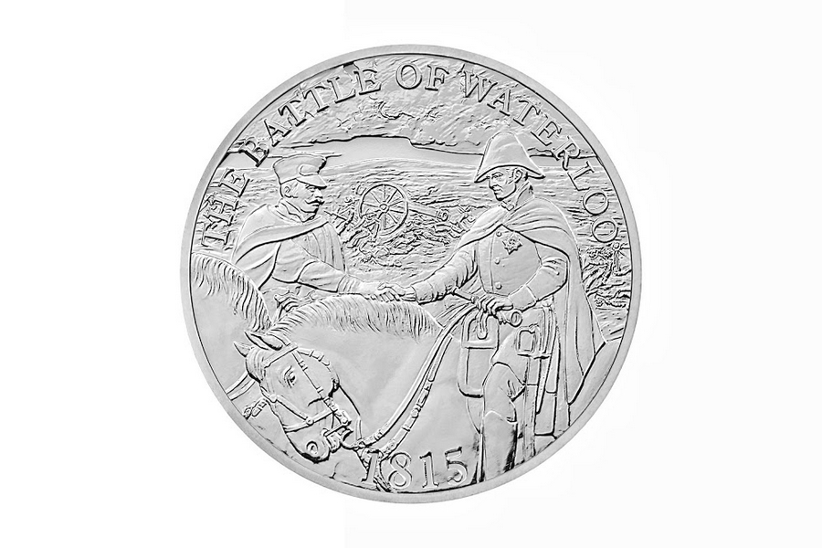 The Royal Mint marks 200 years since the Battle of Waterloo-2015 coins