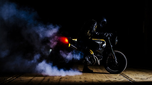 The SC-Rumble by Vibrazioni Art Design Ducati Scrambler-