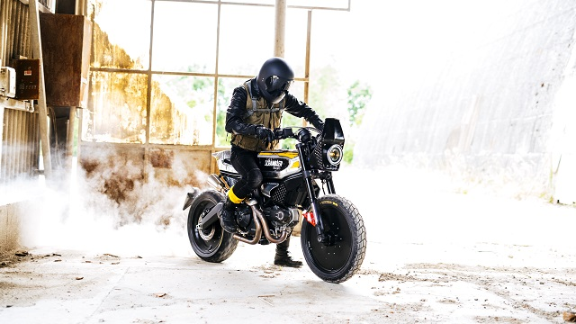 The SC-Rumble by Vibrazioni Art Design Ducati Scrambler--
