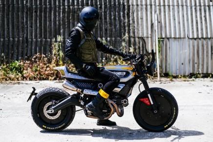The SC-Rumble by Vibrazioni Art Design Ducati Scrambler