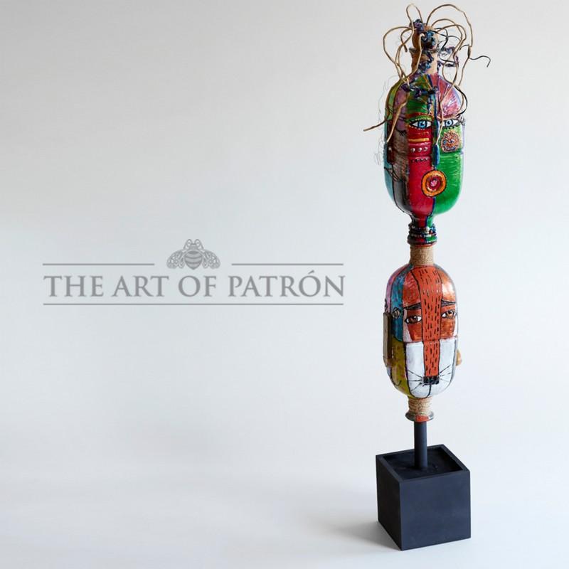 The Spirit of Patrón Totem by Eileen Serletic