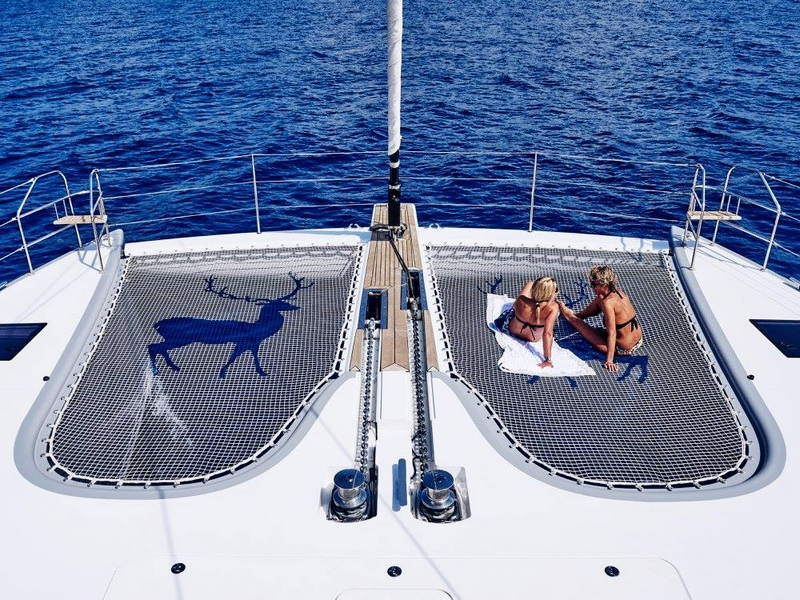 The Sunreef 74 Blue Deer - luxury catamaran