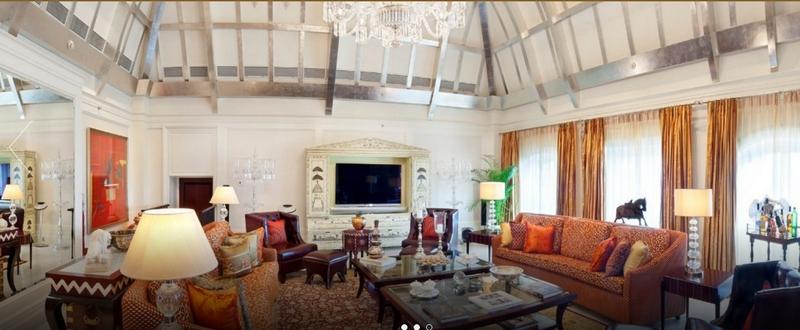 The Taj MahalPalace hotel- the tata suite