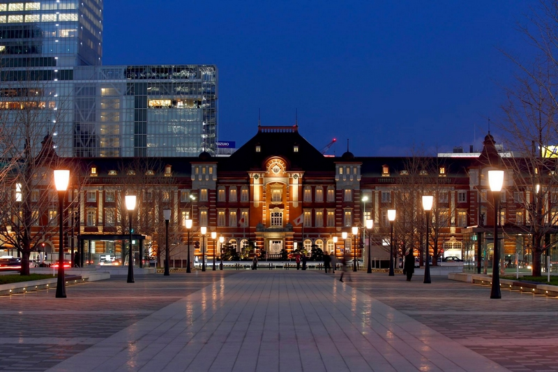 The Tokyo Station Hotel in Tokyo, Japan-