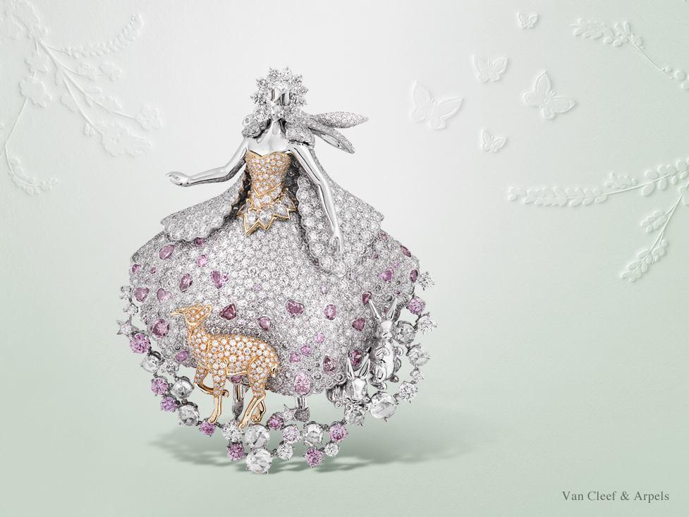 the fairy world of peau d ne donkey skin racont par van cleef arpels2luxury2 com. Black Bedroom Furniture Sets. Home Design Ideas