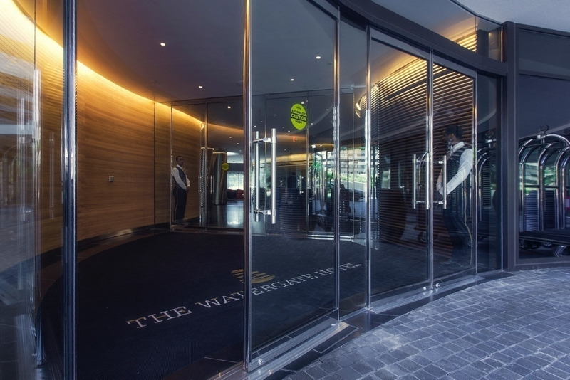 The Watergate Hotel Washington - the entrance 2016 - 2luxury2