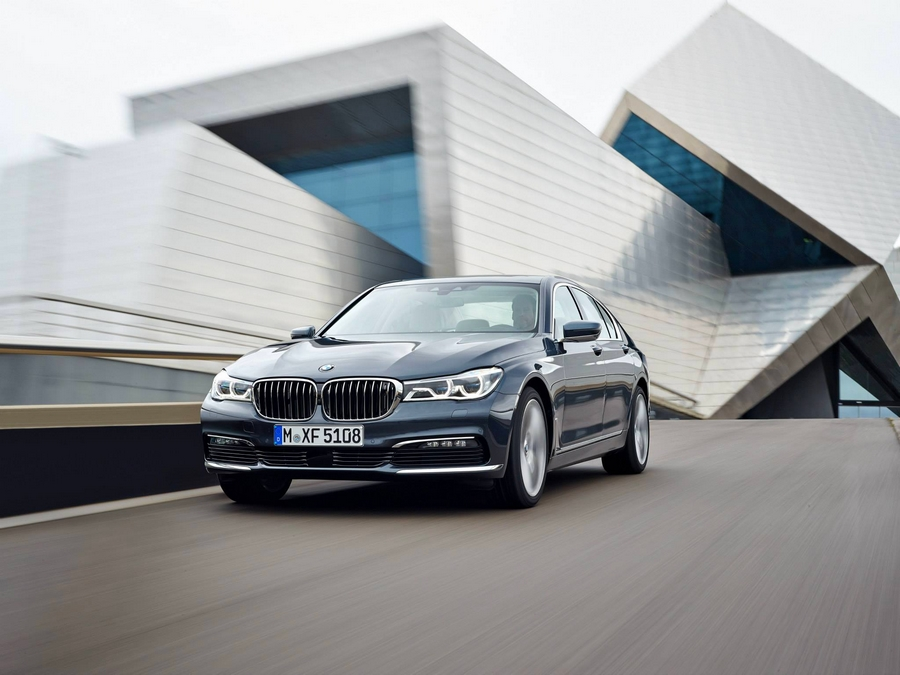 The all new 2016 BMW 7 Series-