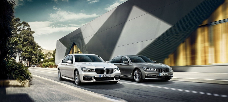 The all new 2016 BMW 7 Series--