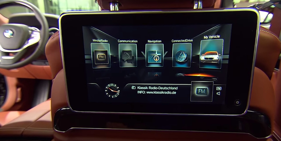 The all new 2016 BMW 7 Series-high-tech