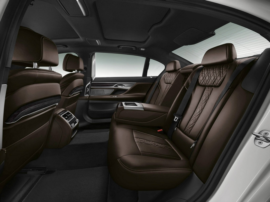 The all new 2016 BMW 7 Series--interior