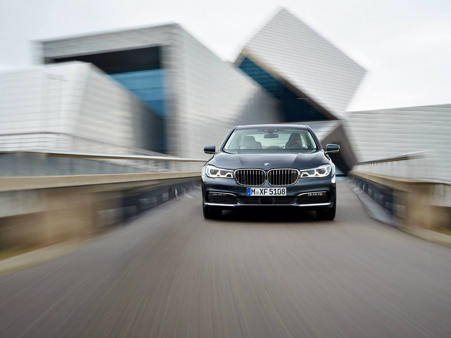 The all new 2016 BMW 7 Series