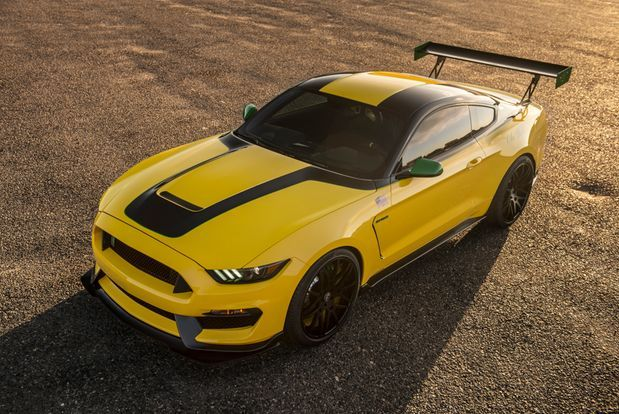 The aviation-inspired Ford Ole Yeller Mustang-