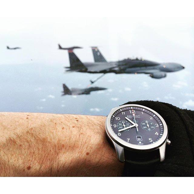 The classic Bremont ALT1-C is a popular choice for bespoke Bremont Military and Special Projects