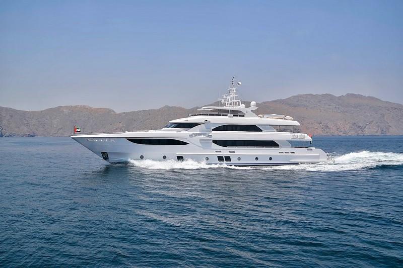 The epitome of truly royal cruising - Gulf Craft Majesty 35 luxury yacht-007