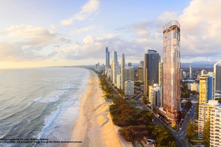 Plans unveiled for the first truly six-star beachfront hotel in Australia